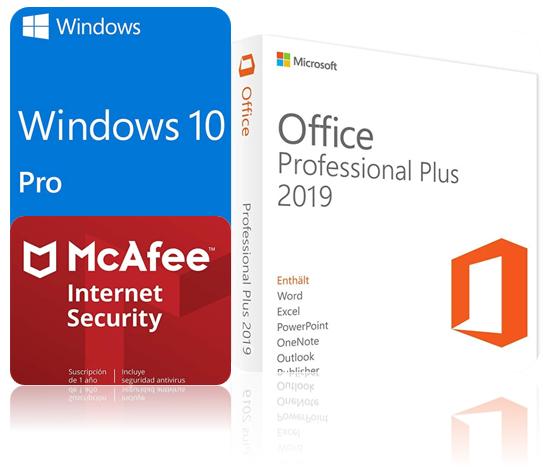 office 365  windows 10  menos de 20 eu