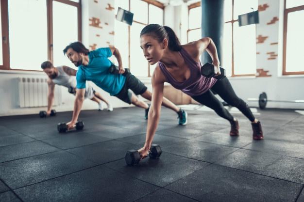 gimnasio en casa entrenamiento en casa
