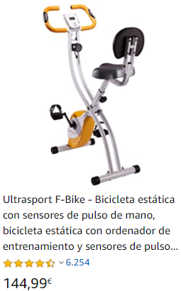 bicicleta estática bici estática