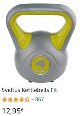 Kettlebells  pesa rusa