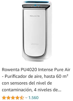purificador de aire rowenta acaros