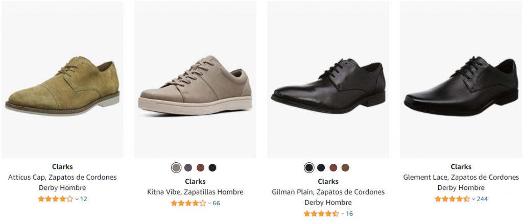 clarks zapatos hombre