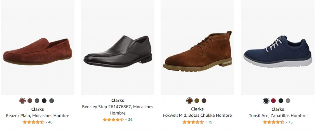 zapatos clark hombre